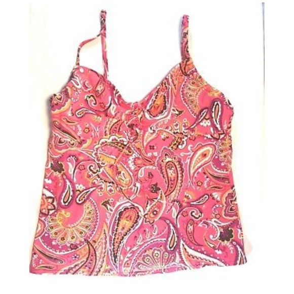 Lands' End Other - Land's End Tankini Top Pink Size 16L
